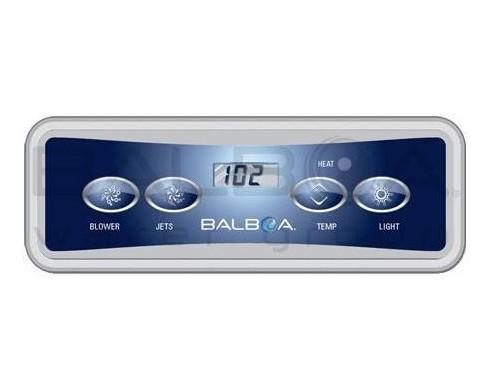 Balboa VL401 – ovládací panel