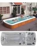 Fit - swim spa - vírivky - bazény s protiprúdom