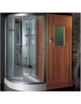 Vibo -sprchovací a parný masážny kút