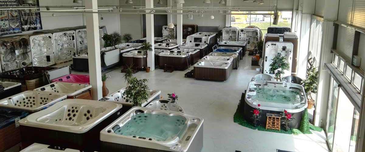 showroom virivky swim spa