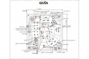 Gejša – vířivka