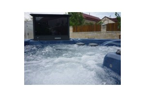Gold class cinema - vířivky - vířivé bazény