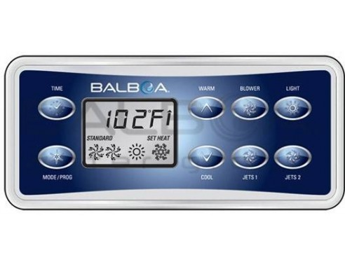 Balboa VL801D - spolehlivý ovládací panel pro vířivky