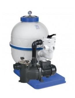 Filtračné zariadenie - Granada KIT 400, 6 m3 / h, 230 V, 6-tich ciest. boč. ventil, čerp. prev 33