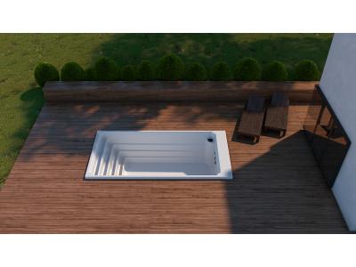 Akrylátové bazény